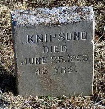 KNIPSUND, UNKNOWN - Yavapai County, Arizona   UNKNOWN KNIPSUND - Arizona Gravestone Photos
