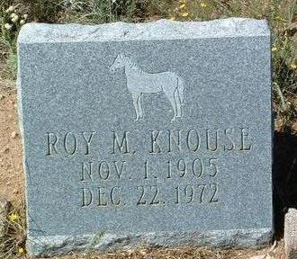 KNOUSE, ROY MILTON - Yavapai County, Arizona | ROY MILTON KNOUSE - Arizona Gravestone Photos