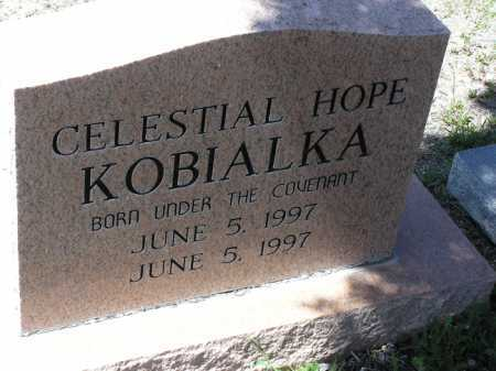 KOBIALKA, CELESTIAL HOPE - Yavapai County, Arizona | CELESTIAL HOPE KOBIALKA - Arizona Gravestone Photos