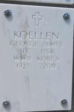 KOELLEN, GEORGE JAMES - Yavapai County, Arizona | GEORGE JAMES KOELLEN - Arizona Gravestone Photos