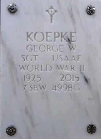 KOEPKE, GEORGE WILLIAM - Yavapai County, Arizona | GEORGE WILLIAM KOEPKE - Arizona Gravestone Photos