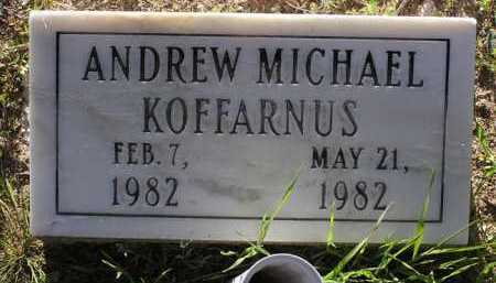 KOFFARNUS, ANDREW MICHAEL - Yavapai County, Arizona | ANDREW MICHAEL KOFFARNUS - Arizona Gravestone Photos