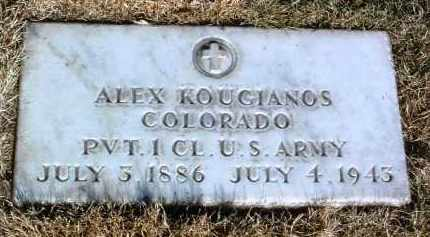 KOUGIANOS, ALEX - Yavapai County, Arizona | ALEX KOUGIANOS - Arizona Gravestone Photos