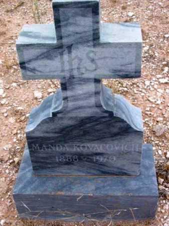 KOVACOVICH, MANDA - Yavapai County, Arizona | MANDA KOVACOVICH - Arizona Gravestone Photos