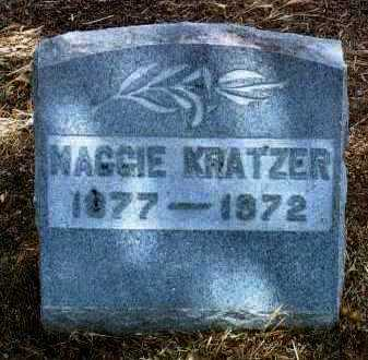 MASSEY KRATZER, MAGGIE - Yavapai County, Arizona | MAGGIE MASSEY KRATZER - Arizona Gravestone Photos