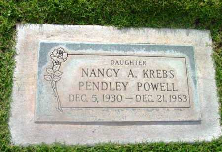 PENDLEY, NANCY ANN - Yavapai County, Arizona | NANCY ANN PENDLEY - Arizona Gravestone Photos