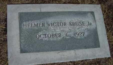KRUSE, HELMER VICTOR, JR. - Yavapai County, Arizona   HELMER VICTOR, JR. KRUSE - Arizona Gravestone Photos