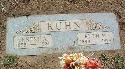 BAKER KUHN, RUTH M. - Yavapai County, Arizona | RUTH M. BAKER KUHN - Arizona Gravestone Photos