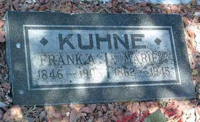 SEIDLER KUHNE, MARIE - Yavapai County, Arizona | MARIE SEIDLER KUHNE - Arizona Gravestone Photos