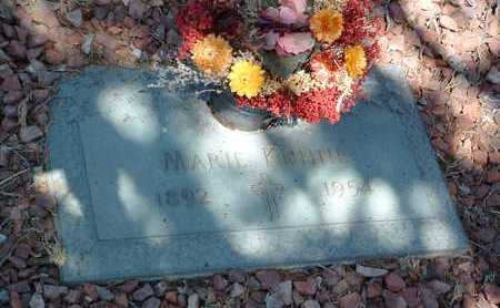 KUHNE, MARIE - Yavapai County, Arizona   MARIE KUHNE - Arizona Gravestone Photos