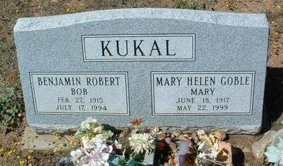 KUKAL, BENJAMIN ROBERT - Yavapai County, Arizona | BENJAMIN ROBERT KUKAL - Arizona Gravestone Photos