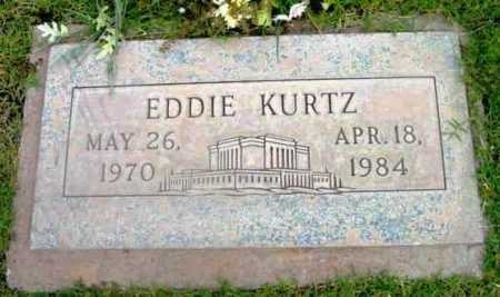 KURTZ, EDWARD (EDDIE) - Yavapai County, Arizona | EDWARD (EDDIE) KURTZ - Arizona Gravestone Photos