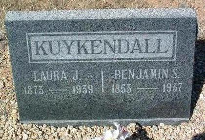 KUYKENDALL, LAURA JANE - Yavapai County, Arizona | LAURA JANE KUYKENDALL - Arizona Gravestone Photos