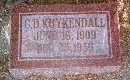 KUYKENDALL, CECIL  D. - Yavapai County, Arizona | CECIL  D. KUYKENDALL - Arizona Gravestone Photos