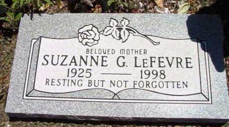 LAFEVRE, SUZANNE G. - Yavapai County, Arizona | SUZANNE G. LAFEVRE - Arizona Gravestone Photos