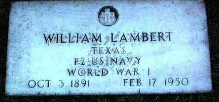 LAMBERT, WILLIAM - Yavapai County, Arizona | WILLIAM LAMBERT - Arizona Gravestone Photos