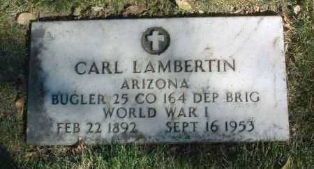 LAMBERTIN, CARL - Yavapai County, Arizona | CARL LAMBERTIN - Arizona Gravestone Photos