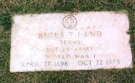 LAND, RUFUS TILLMAN - Yavapai County, Arizona   RUFUS TILLMAN LAND - Arizona Gravestone Photos