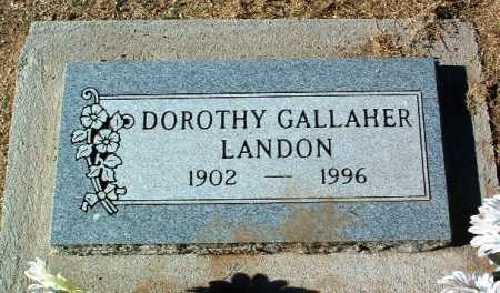 LANDON, DOROTHY - Yavapai County, Arizona   DOROTHY LANDON - Arizona Gravestone Photos