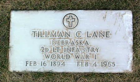 LANE, TILLMAN  C. - Yavapai County, Arizona | TILLMAN  C. LANE - Arizona Gravestone Photos