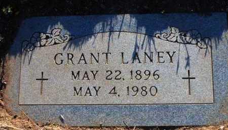 LANEY, GRANT - Yavapai County, Arizona | GRANT LANEY - Arizona Gravestone Photos