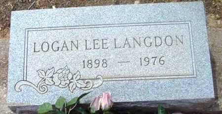 LANGDON, LOGAN LEE - Yavapai County, Arizona | LOGAN LEE LANGDON - Arizona Gravestone Photos