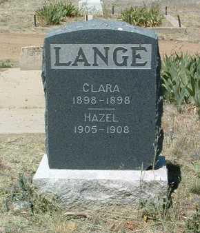 LANGE, HAZEL FRANCES - Yavapai County, Arizona | HAZEL FRANCES LANGE - Arizona Gravestone Photos