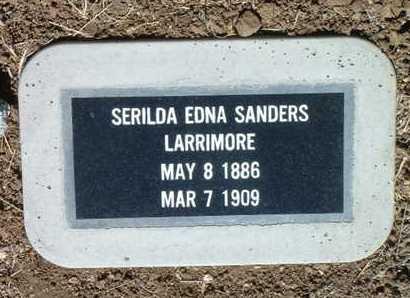 SANDERS LARRIMORE, S. - Yavapai County, Arizona | S. SANDERS LARRIMORE - Arizona Gravestone Photos