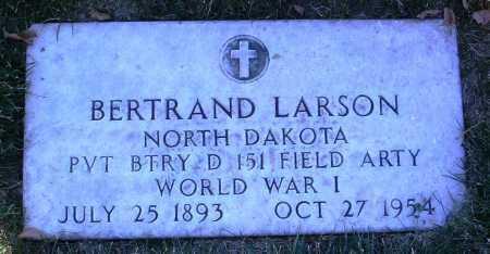 LARSON, BERTRAND - Yavapai County, Arizona | BERTRAND LARSON - Arizona Gravestone Photos