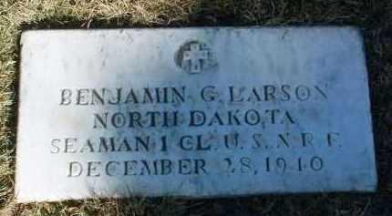 LARSON, BENJAMIN G. - Yavapai County, Arizona | BENJAMIN G. LARSON - Arizona Gravestone Photos