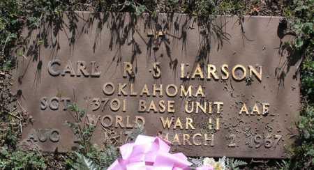 LARSON, CARL ROY S. - Yavapai County, Arizona   CARL ROY S. LARSON - Arizona Gravestone Photos