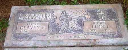LARSON, LOIS L. - Yavapai County, Arizona | LOIS L. LARSON - Arizona Gravestone Photos