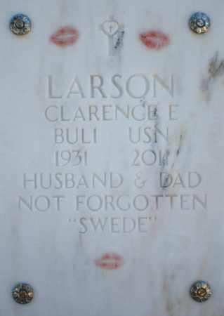 LARSON, CLARENCE E. - Yavapai County, Arizona   CLARENCE E. LARSON - Arizona Gravestone Photos