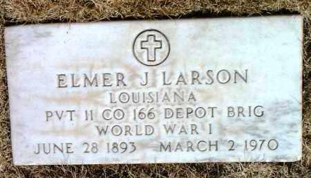 LARSON, ELMER JOSEPH - Yavapai County, Arizona | ELMER JOSEPH LARSON - Arizona Gravestone Photos