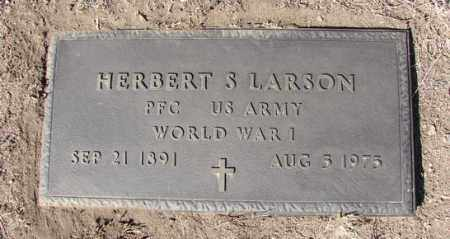 LARSON, HERBERT S. - Yavapai County, Arizona | HERBERT S. LARSON - Arizona Gravestone Photos