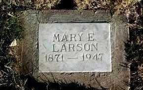 LARSON, MARY E. - Yavapai County, Arizona | MARY E. LARSON - Arizona Gravestone Photos