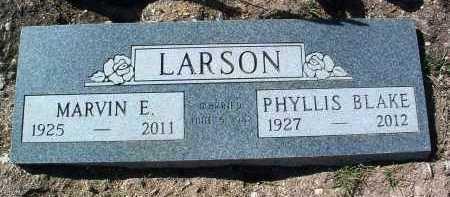 LARSON, MARVIN ERNEST - Yavapai County, Arizona | MARVIN ERNEST LARSON - Arizona Gravestone Photos