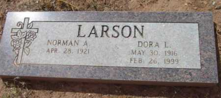 LARSON, NORMAN A. - Yavapai County, Arizona | NORMAN A. LARSON - Arizona Gravestone Photos