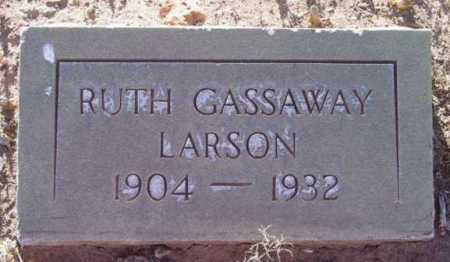 LARSON, RUTH GASSAWAY - Yavapai County, Arizona | RUTH GASSAWAY LARSON - Arizona Gravestone Photos