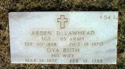 LAWHEAD, OVA RUTH - Yavapai County, Arizona | OVA RUTH LAWHEAD - Arizona Gravestone Photos