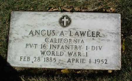 LAWLER, ANGUS A. - Yavapai County, Arizona | ANGUS A. LAWLER - Arizona Gravestone Photos