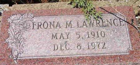 LAWRENCE, FRONA M. - Yavapai County, Arizona | FRONA M. LAWRENCE - Arizona Gravestone Photos