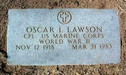 LAWSON, OSCAR LEROY, JR. - Yavapai County, Arizona   OSCAR LEROY, JR. LAWSON - Arizona Gravestone Photos