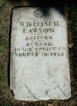 LAWSON, WILLIAM HENRY - Yavapai County, Arizona | WILLIAM HENRY LAWSON - Arizona Gravestone Photos