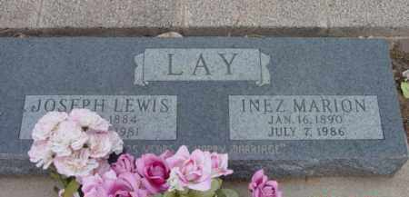 LAY, JOSEPH LEWIS - Yavapai County, Arizona | JOSEPH LEWIS LAY - Arizona Gravestone Photos