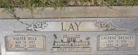 BRUMLEY LAY, LAVERNE - Yavapai County, Arizona | LAVERNE BRUMLEY LAY - Arizona Gravestone Photos
