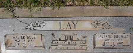 LAY, WALTER (BUCK) - Yavapai County, Arizona | WALTER (BUCK) LAY - Arizona Gravestone Photos