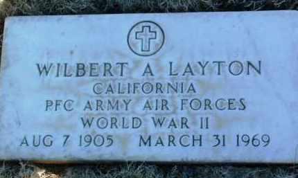 LAYTON, WILBERT CHARLES ALDEN - Yavapai County, Arizona | WILBERT CHARLES ALDEN LAYTON - Arizona Gravestone Photos