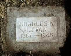 LE VAN, CHARLES WILLIAM - Yavapai County, Arizona | CHARLES WILLIAM LE VAN - Arizona Gravestone Photos