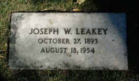 LEAKEY, JOSEPH W. - Yavapai County, Arizona | JOSEPH W. LEAKEY - Arizona Gravestone Photos